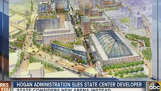 Hogan administration sues State Center developer - Video