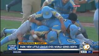 Park view little league eyes world series berth - Video