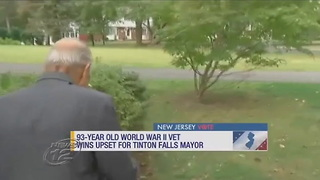 WWII Veteran Wins NJ Mayoral Race By Going Back to Old Fashion Campaigning - Video