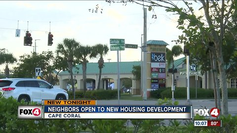 Neighbors open to new housing development in Cape Coral