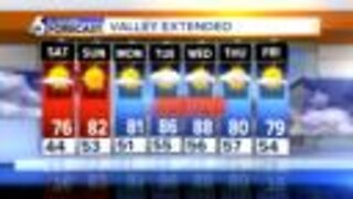 A More Summer-Like Extended Forecast