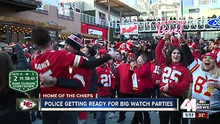 KCPD bringing in extra officers for Super Bowl Sunday