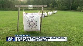 Sporting club upset over proposed mixed-use trail