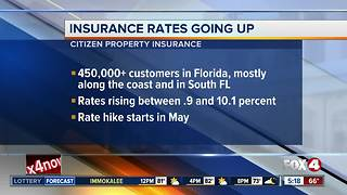 State insurance company raising rates - Video