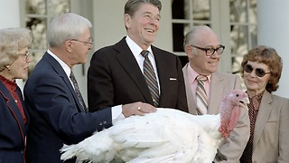 "Thanksgiving Flashback 1986 - Ronald Reagan Declares ""God as the Foundation of Our Nation"" - Video"