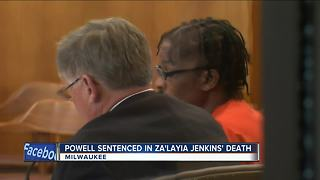 Za'Layia Jenkins murder suspect sentenced to 41 years in prison