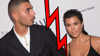 Kourtney Kardashian BREAKS UP With Younes Bendjima! - Video