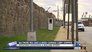 Baltimore red light and speed cameras carry surprise