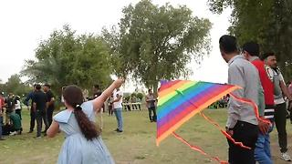 Kite Festival In Iraq Shows Media A Different Side Of People - Video