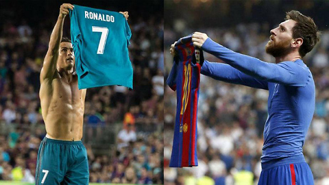 Cristiano Ronaldo TROLLS Lionel Messi with Shirt Celebration, SHOVES Referee, Gets EJECTED