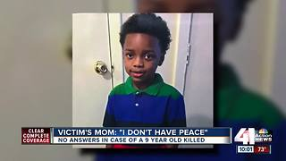 Five months later, no arrests in 9-year-old's shooting death - Video