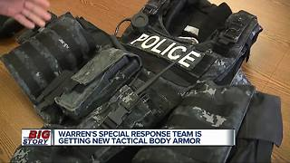 Warren special response team is getting new tactical body armor - Video
