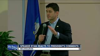 Paul Ryan reflects on immigrant origins after Trump's s***hole comment - Video