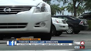 Car buglars target local gym again - Video