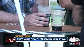 Police increase patrols for drunk drivers Labor Day weekend - Video