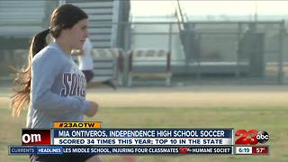 Female Athlete of the Week: Mia Ontiveros - Video