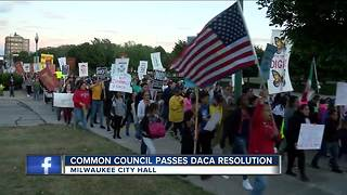 Milwaukee Common Council votes on resolution opposing DACA decision
