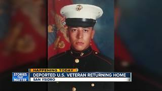 Deported U.S. veteran returning home - Video