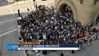 Global Climate Strike brings hundreds of people out to march Milwaukee streets