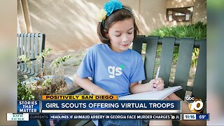 Girls Scouts offering virtual troops