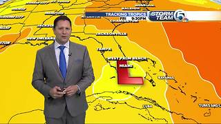 Tropical system could develop late next week
