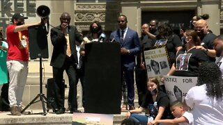 Protesters gather as MPD Officer Michael Mattioli makes first court appearance in Joel Acevedo's death