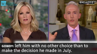 Gowdy Suggests Clinton Connections To Justice Department Run Deep - Video