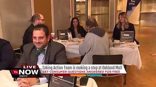 Taking Action team hits the road to Oakland Mall - Video