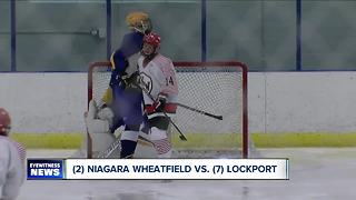 Section VI large school boys hockey semifinals set - Video