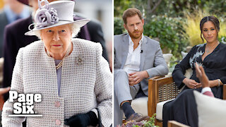 Queen Elizabeth releases statement on Prince Harry, Meghan Markle interview