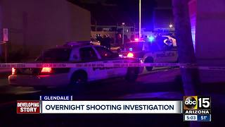 Shooting investigation underway in Glendale - Video
