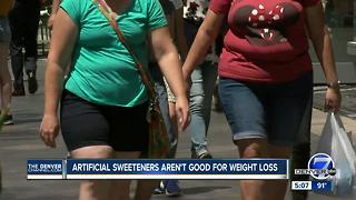New study finds sweetener alternatives may cause weight gain, increase risk for diabetes - Video