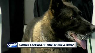 What happens to Officer Lehner's K-9 partner, Shield? - Video