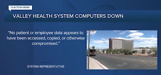 Valley Health System computers down due to 'IT issue'