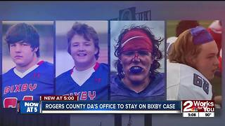 Rogers County DA's office to stay on Bixby case - Video