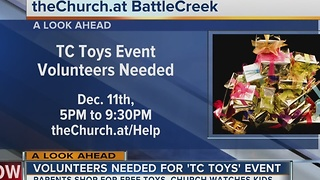 BattleCreek church asking for volunteers at holiday event - Video