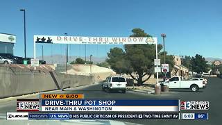 Tribal pot shop considering drive-thru weed window - Video