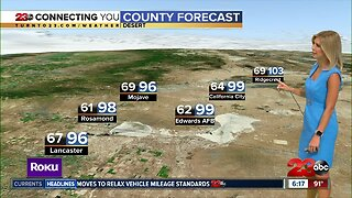 A warming trend begins on Wednesday