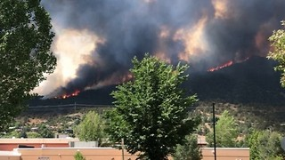 Lake Christine Fire Forces Evacuations in Basalt, Colorado