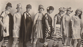 10 Crazy Bathing Suits Women used to Wear - Video