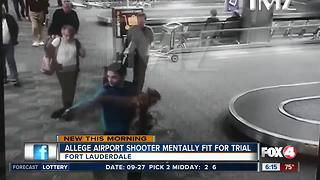 Lawyers: Florida airport shooting suspect still mentally fit - Video