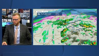 Power of 5 meteorologist Trent Magill gives update on Winter Weather Advisory