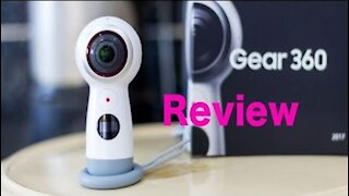 SAMSUNG GEAR 360 CAMERA UNBOXING