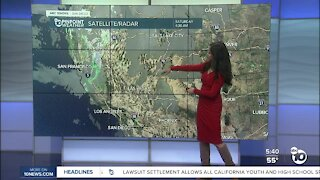 ABC 10News Pinpoint Weather for Sat. March 6, 2021