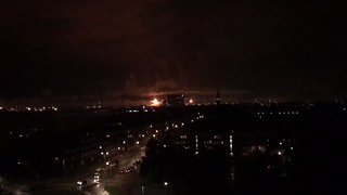 Fire Shuts Down Parts of Europe's Largest Oil Refinery - Video