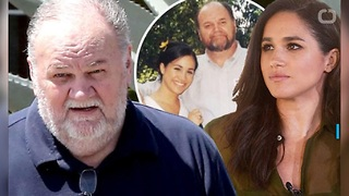 Meghan Markle's Dad Won't Attend Royal Wedding Due To Staged Photo Scandal - Video