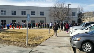 Middle school evacuated, one student arrested after bomb scare at Colorado middle school - Video