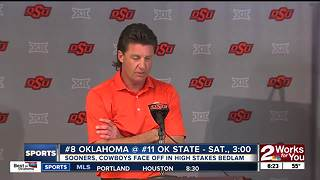 Oklahoma, Oklahoma State gear up for high stakes Bedlam showdown - Video