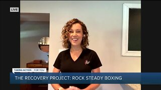 Rock Steady Boxing with the Recovery Project