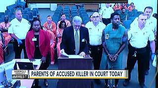 Accused Seminole Heights killer in court today - Video